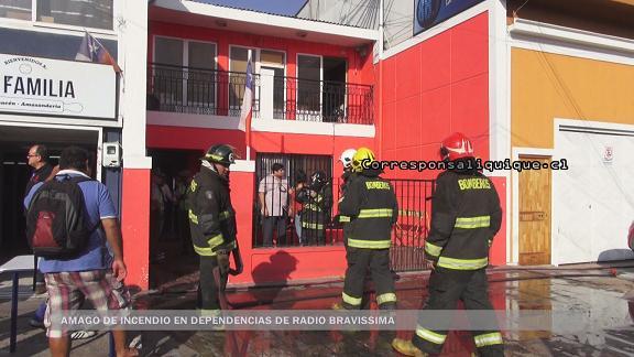 Photo of Amago de incendio en dependencias de Radio Bravissima