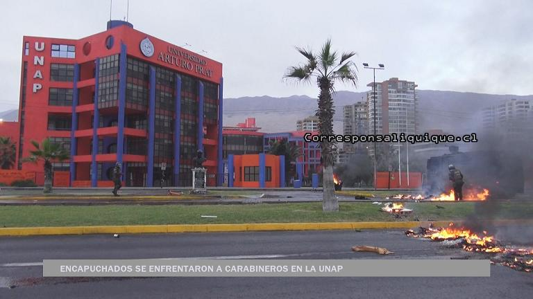 Photo of Barricadas y enfrentamientos en la Unap