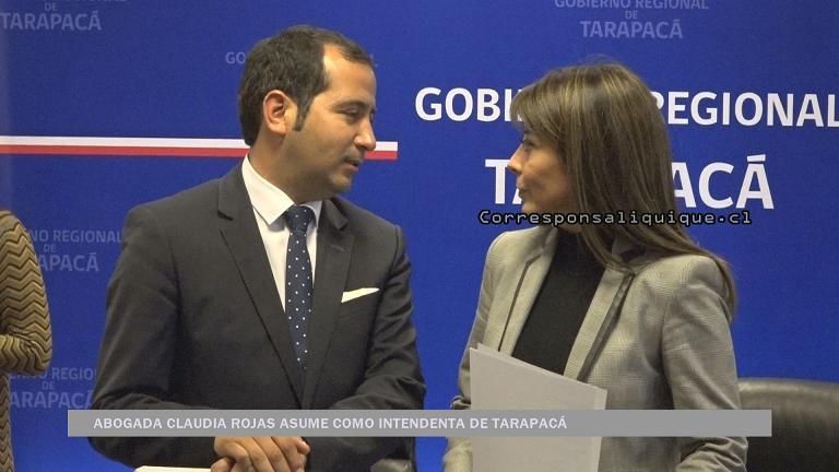 Photo of Asumió nueva Intendenta Regional Claudia Rojas