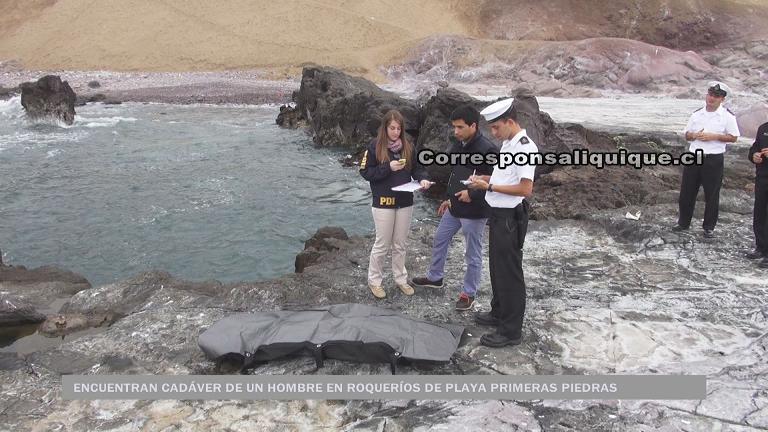 Photo of Encuentran cadáver en playa Primeras Piedras