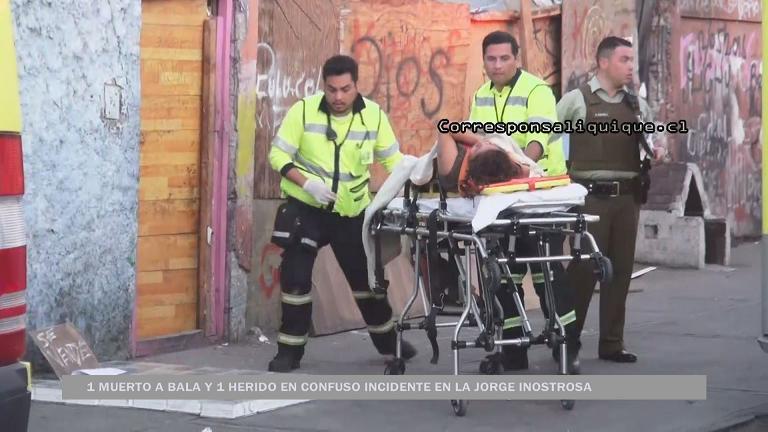 Photo of 1 muerto y una mujer herida en Población Jorge Inostrosa