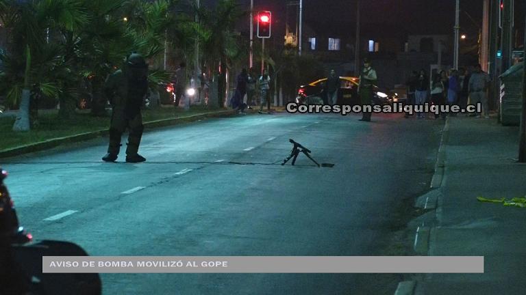 Photo of Aviso de bomba movilizó al Gope de Carabineros