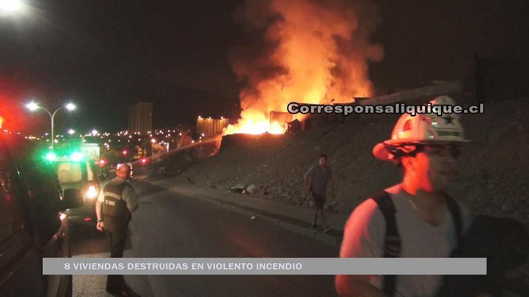 Photo of Incendio destruyó 8 viviendas en El Colorado