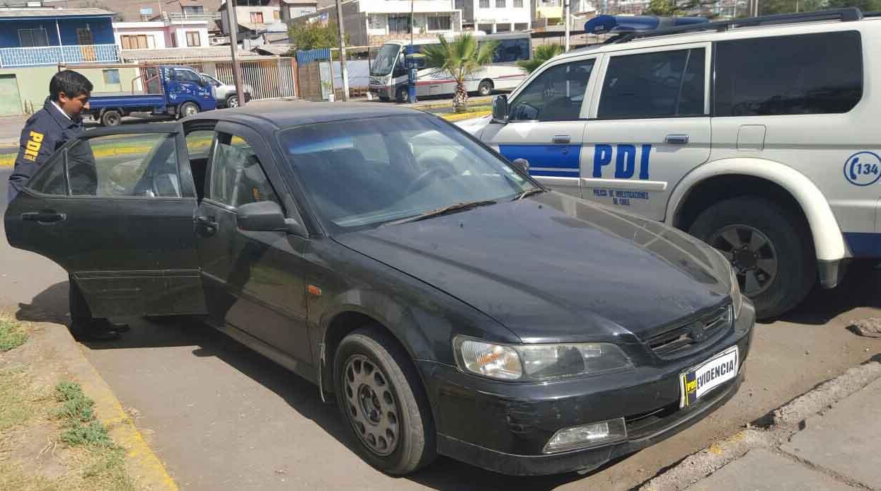 Photo of PDI recupera vehículo robado el 5 de enero y lo entrega a su propietario