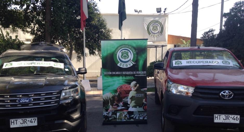 Photo of SEBV recupera 2 vehículos robados que iban a ser trasladados a Iquique