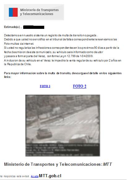 Photo of Alertan sobre correos electrónicos falsos en el cobro de infracciones
