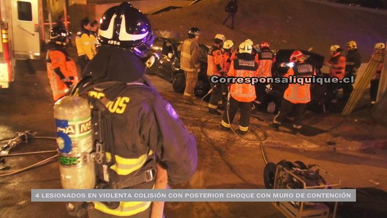 Photo of Conductor en evidente estado de ebriedad protagonizó violento accidente