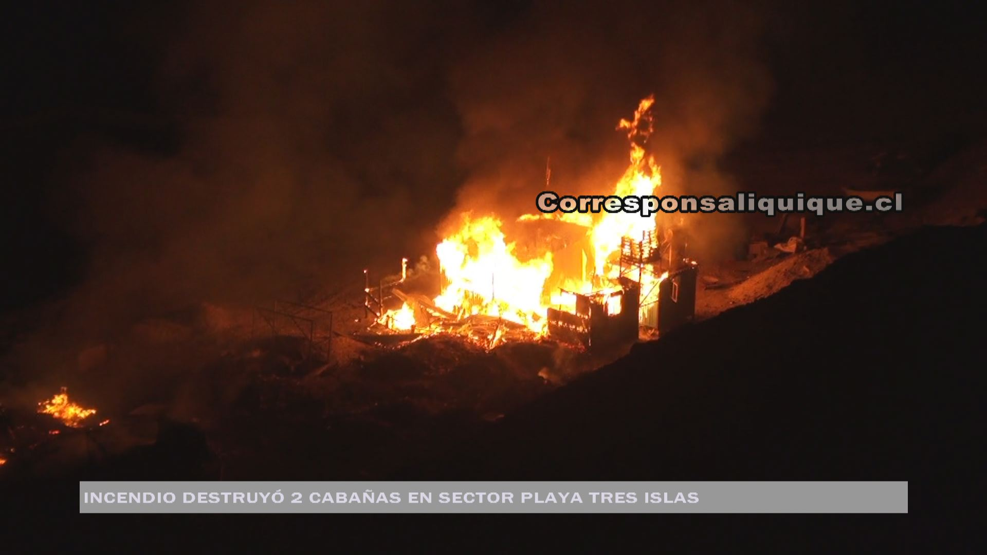 Photo of Incendio destruyó sede de club de caza submarina en Playa Tres Islas