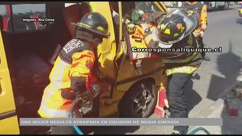 Photo of Una mujer embarazada resultó lesionada en colisión de mediana energía