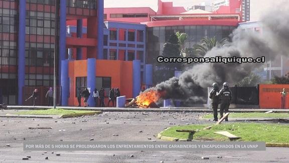 Photo of Más de 5 horas duraron los enfrentamientos en la Unap
