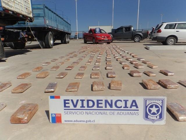 Photo of Aduanas interceptó camioneta con más de 219 kilos de droga en Colchane