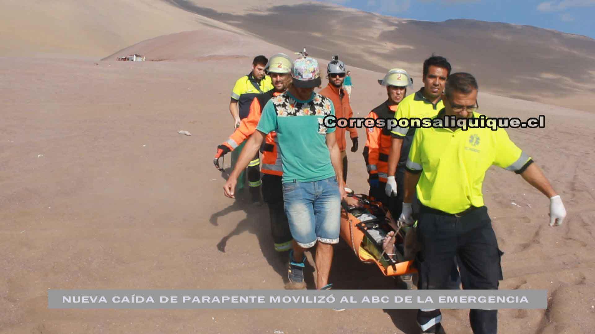 Photo of Nueva caída de parapentista movilizó al ABC de la emergencia