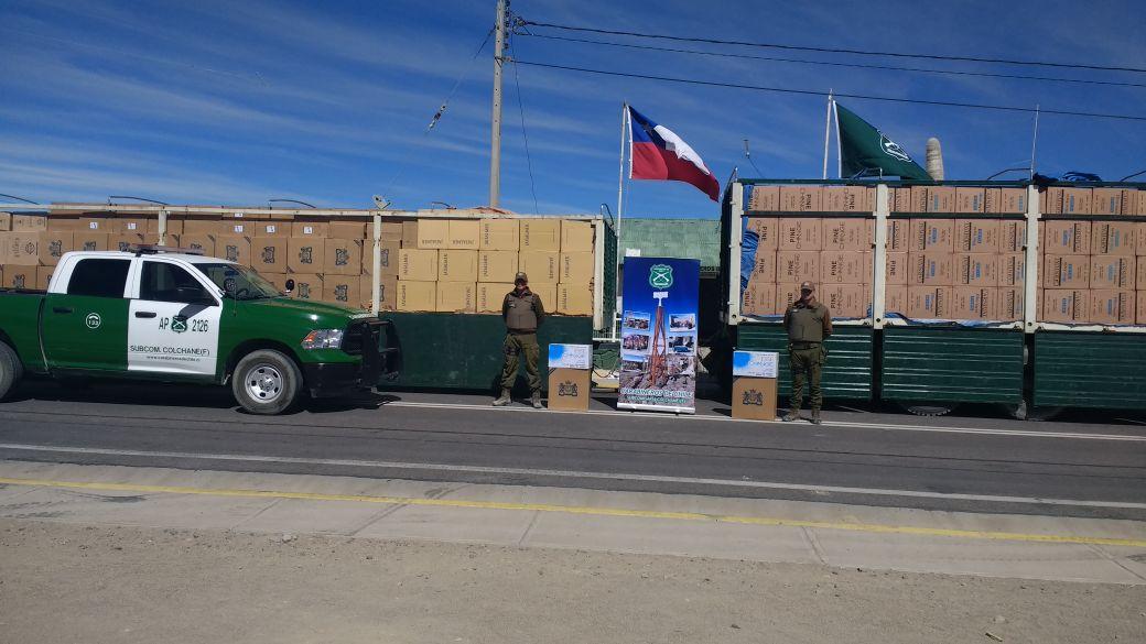 Photo of Contrabandistas bolivianos intentaron sobornar a Carabineros