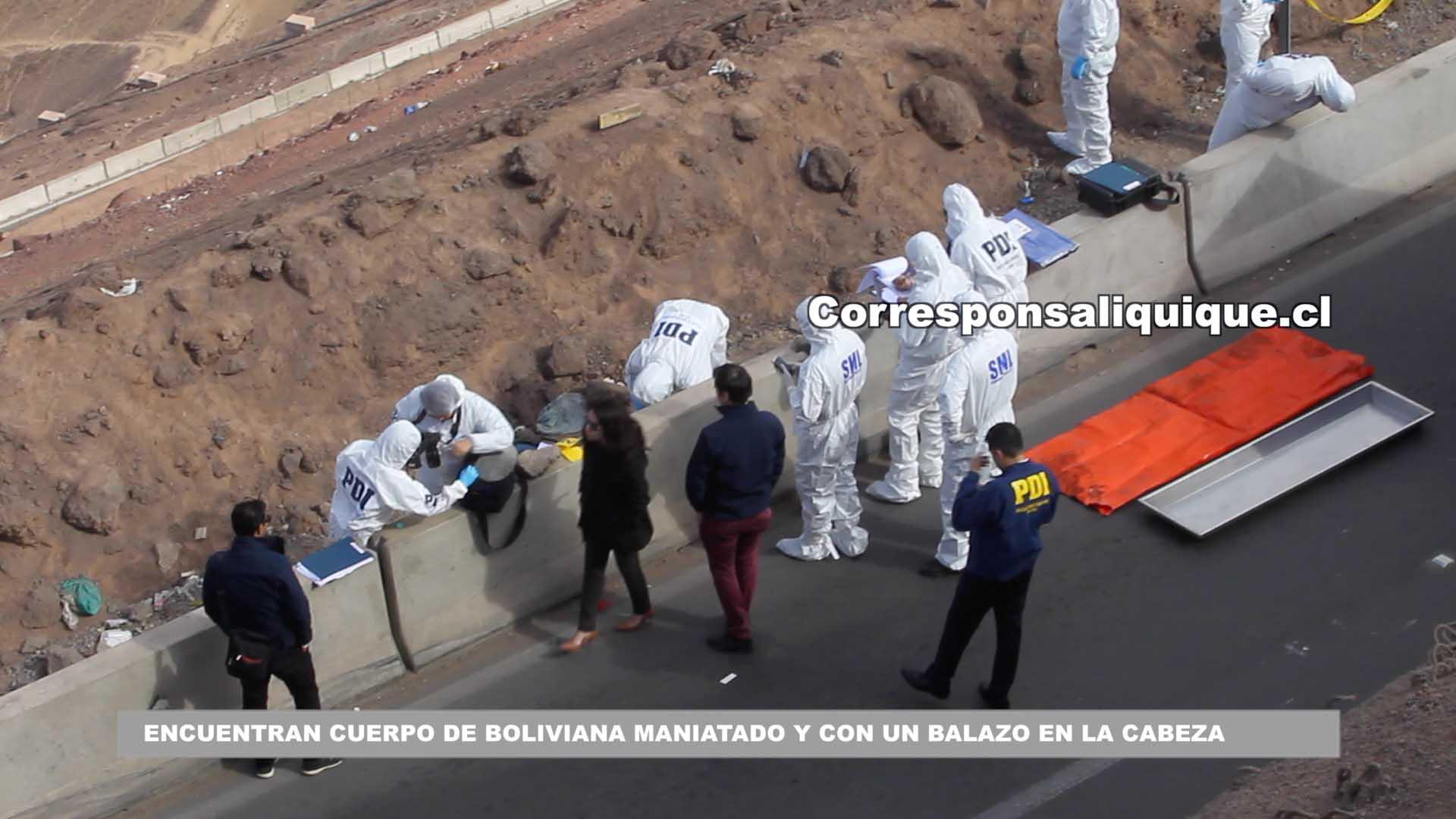 Photo of Encuentran cuerpo de boliviana maniatado y con un balazo en la cabeza