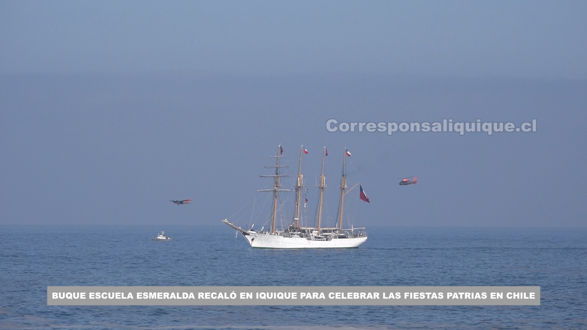 Photo of Buque Escuela Esmeralda recaló en Iquique para celebrar las Fiestas Patrias en Chile