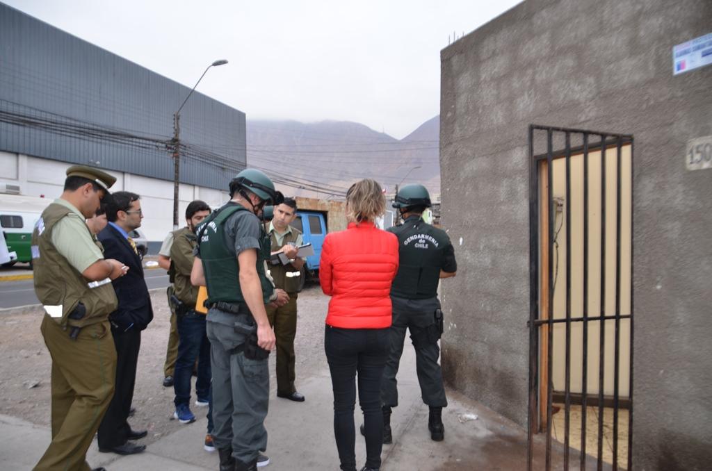 Photo of Realizan reconstitución de escena en  homicidio ocurrido en sector céntrico