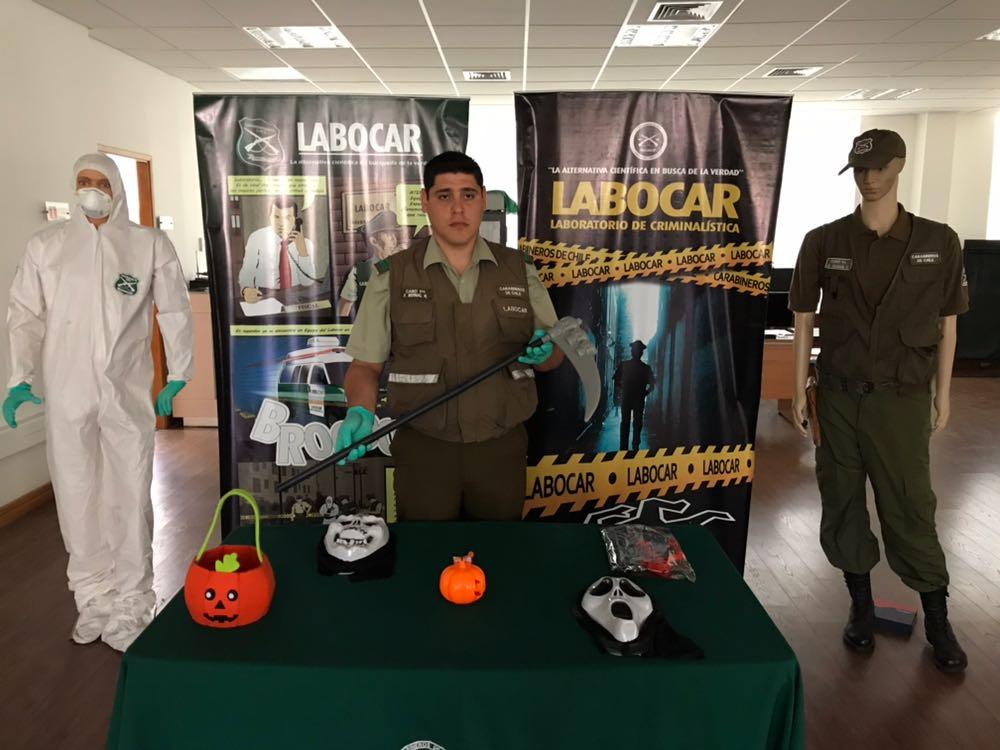 Photo of Carabineros del Labocar entrega consejos para celebraciones de Halloween