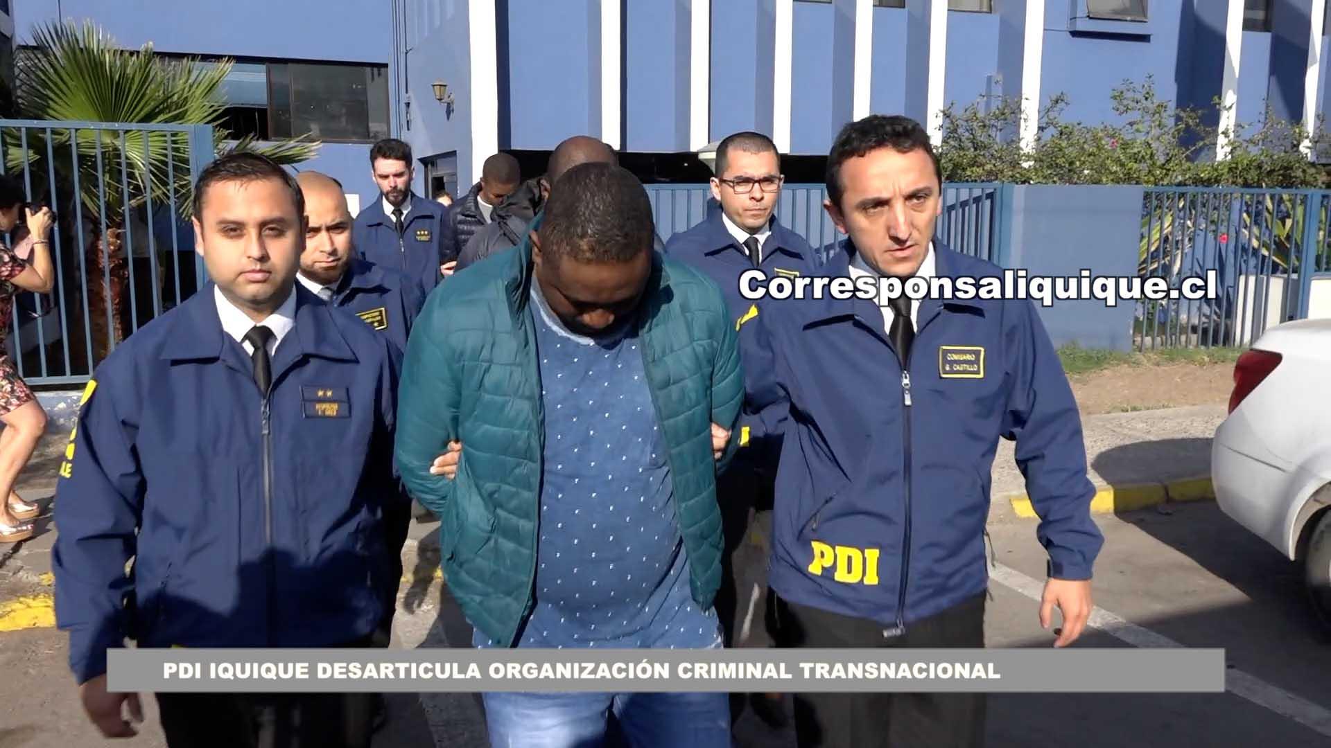 Photo of PDI Iquique desarticula organización criminal transnacional con vínculos en Colombia y Bolivia