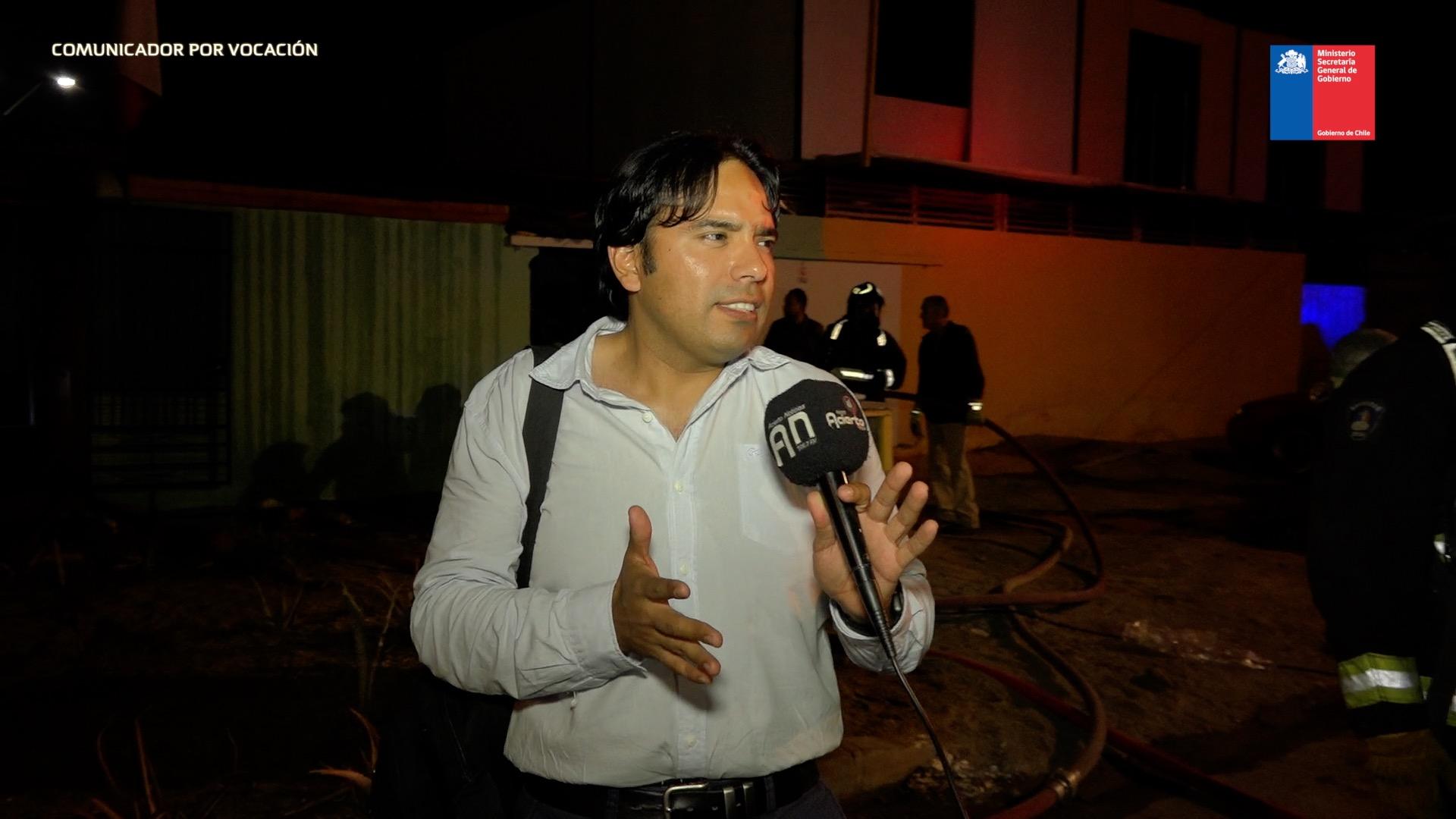 Photo of Rodrigo Longa – Comunicador por vocación y bombero