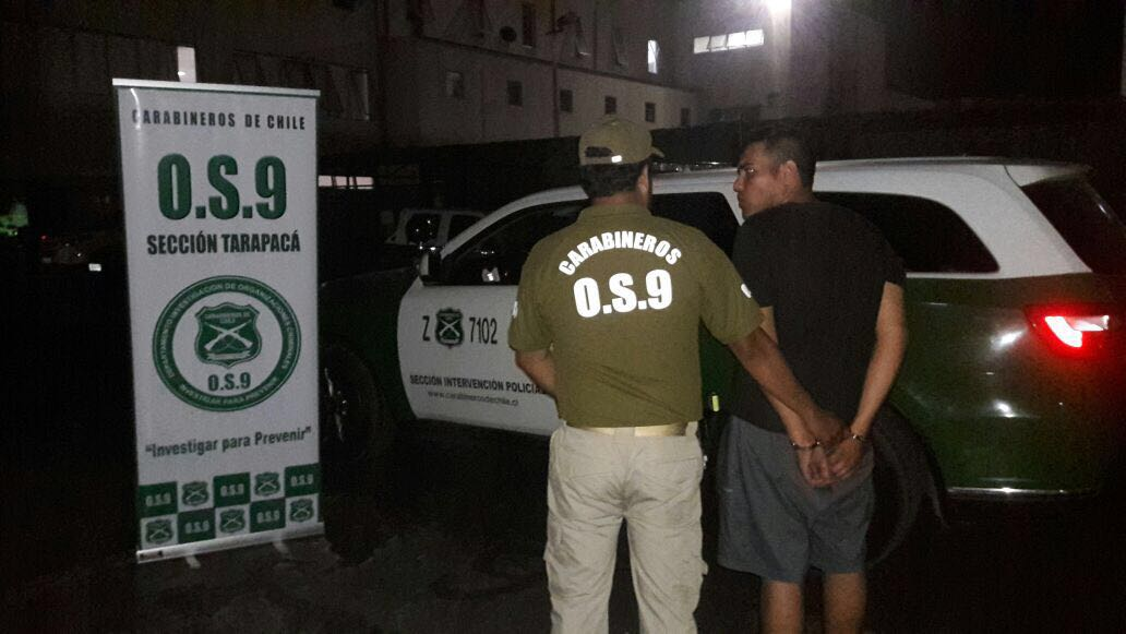 Photo of O.S.9 detiene al autor de tiroteo en que resultó baleada una mujer en el cuello