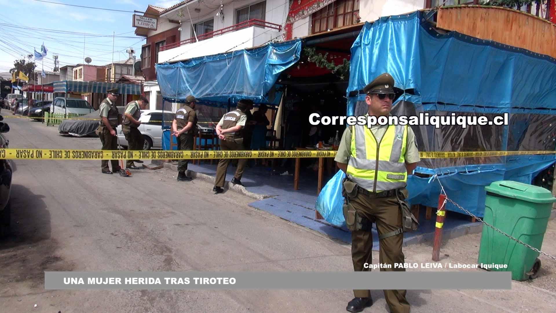 Photo of Una mujer resultó herida por «bala loca» tras tiroteo