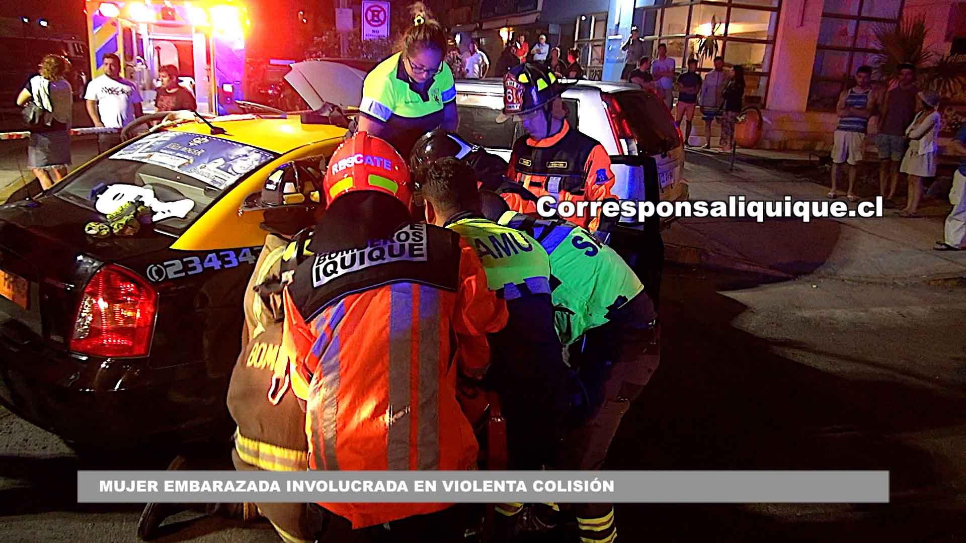 Photo of Mujer embarazada involucrada en violenta colisión