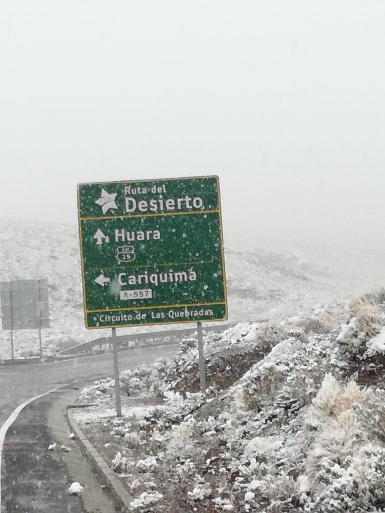 Photo of Se declara Alerta Temprana Preventiva para la provincia del Tamarugal por evento meteorológico