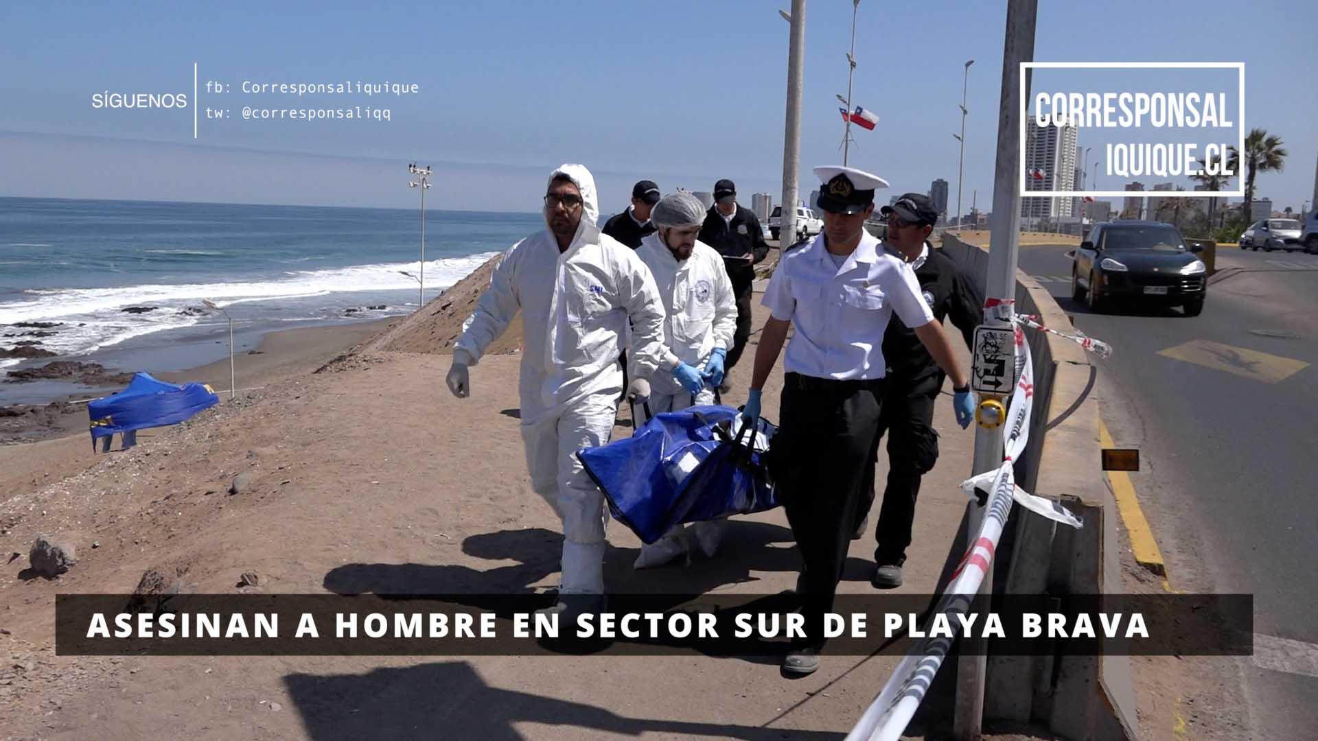 Photo of Asesinan a hombre en sector sur de Playa brava