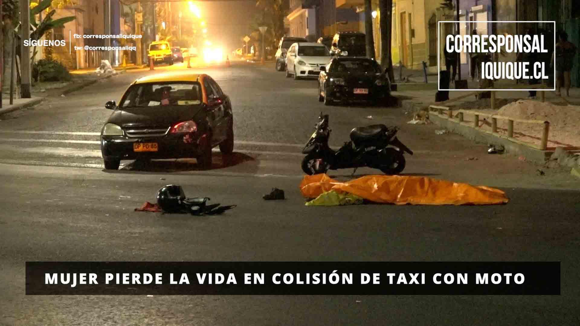 Photo of Mujer pierde la vida en colisión de taxi con moto