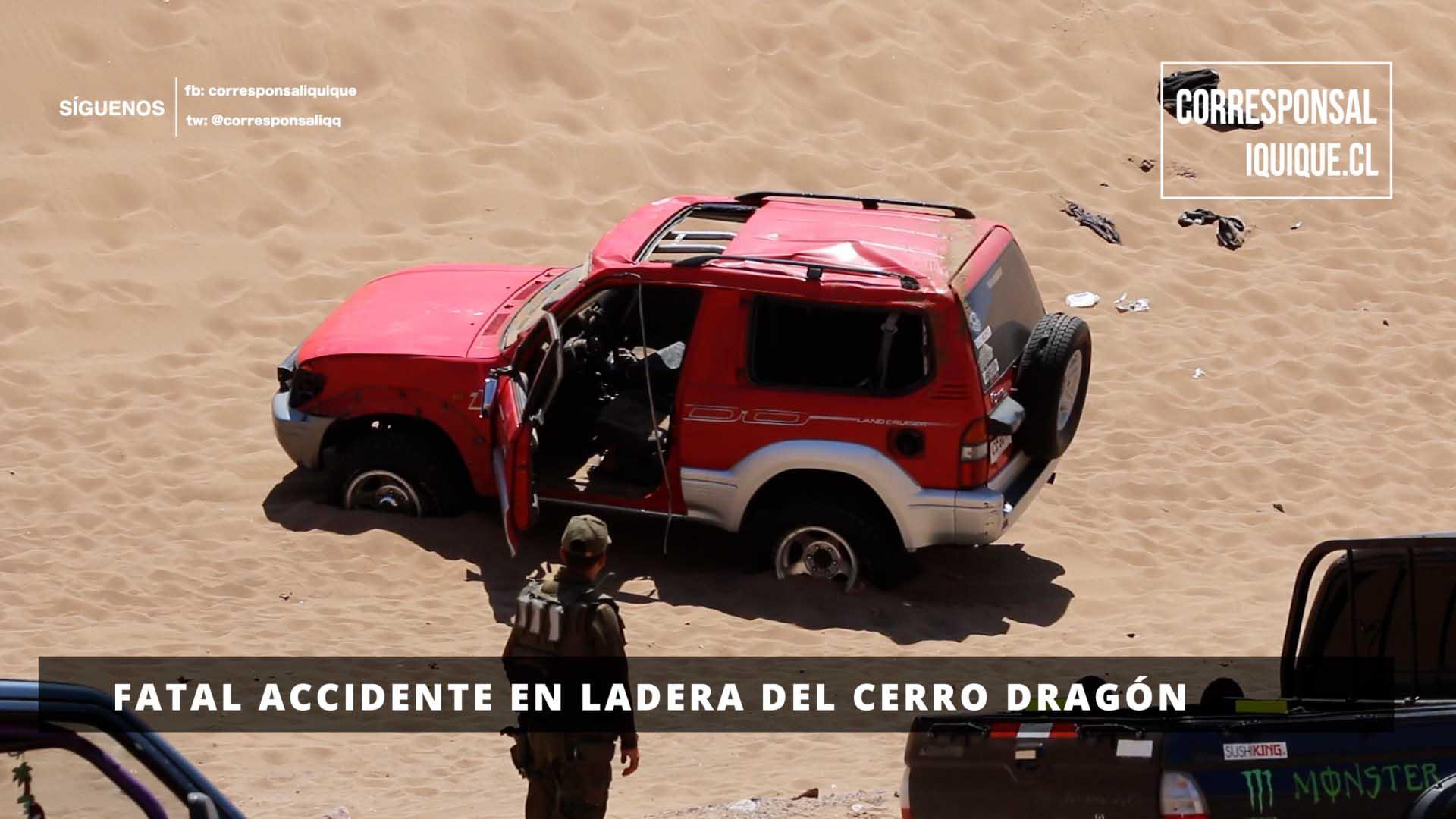 Photo of Fatal accidente en ladera del Cerro Dragón