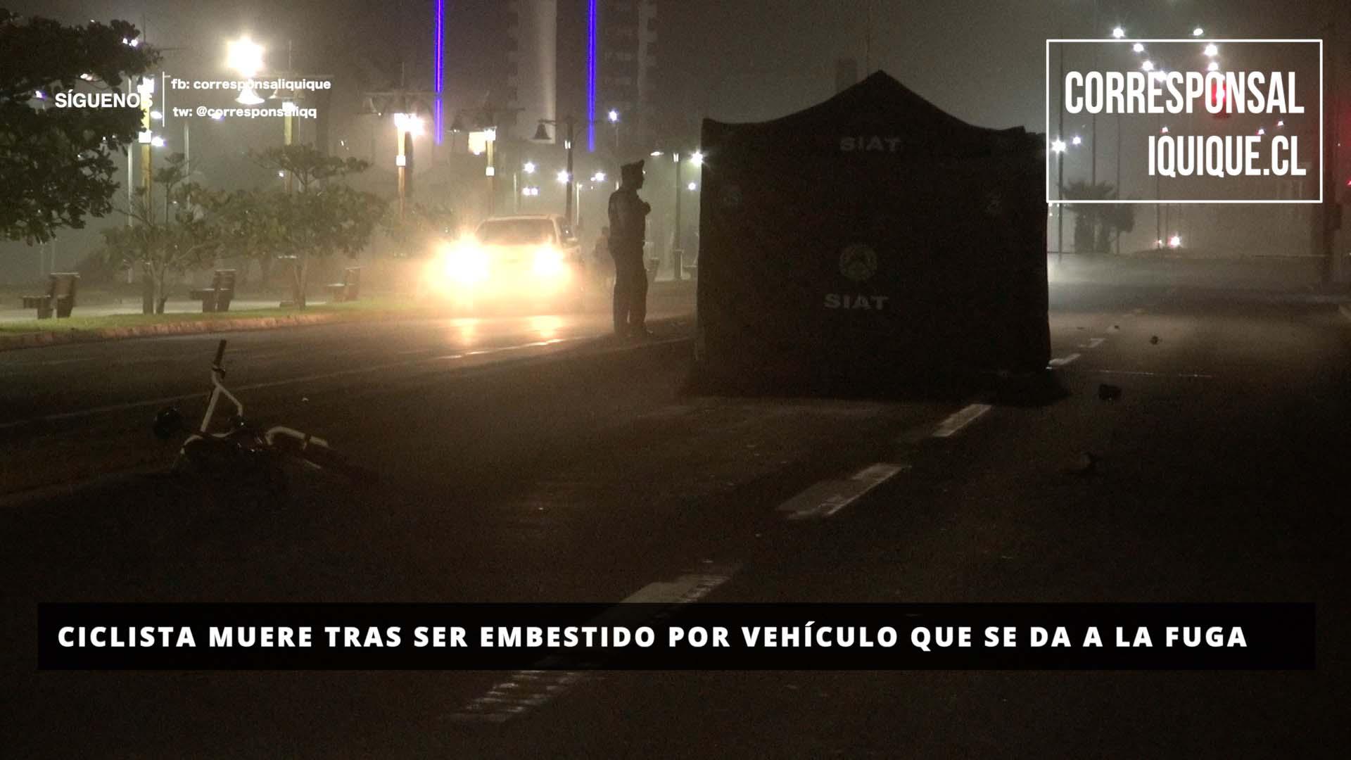 Photo of Ciclista muere tras ser embestido por vehículo que se da a la fuga