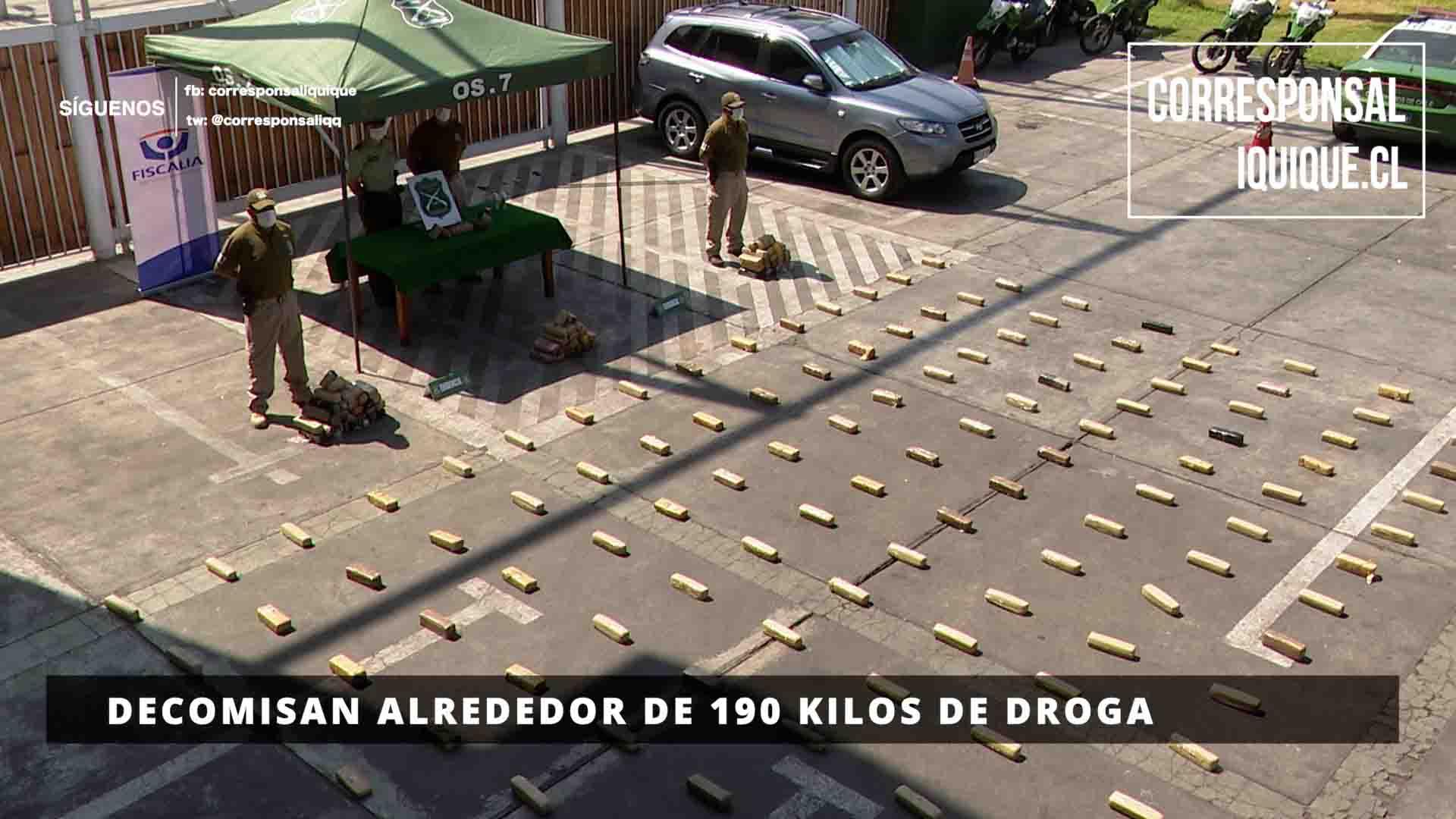 Photo of Investigación de Fiscalía y OS 7 logra  decomiso de casi 190 kilos de marihuana