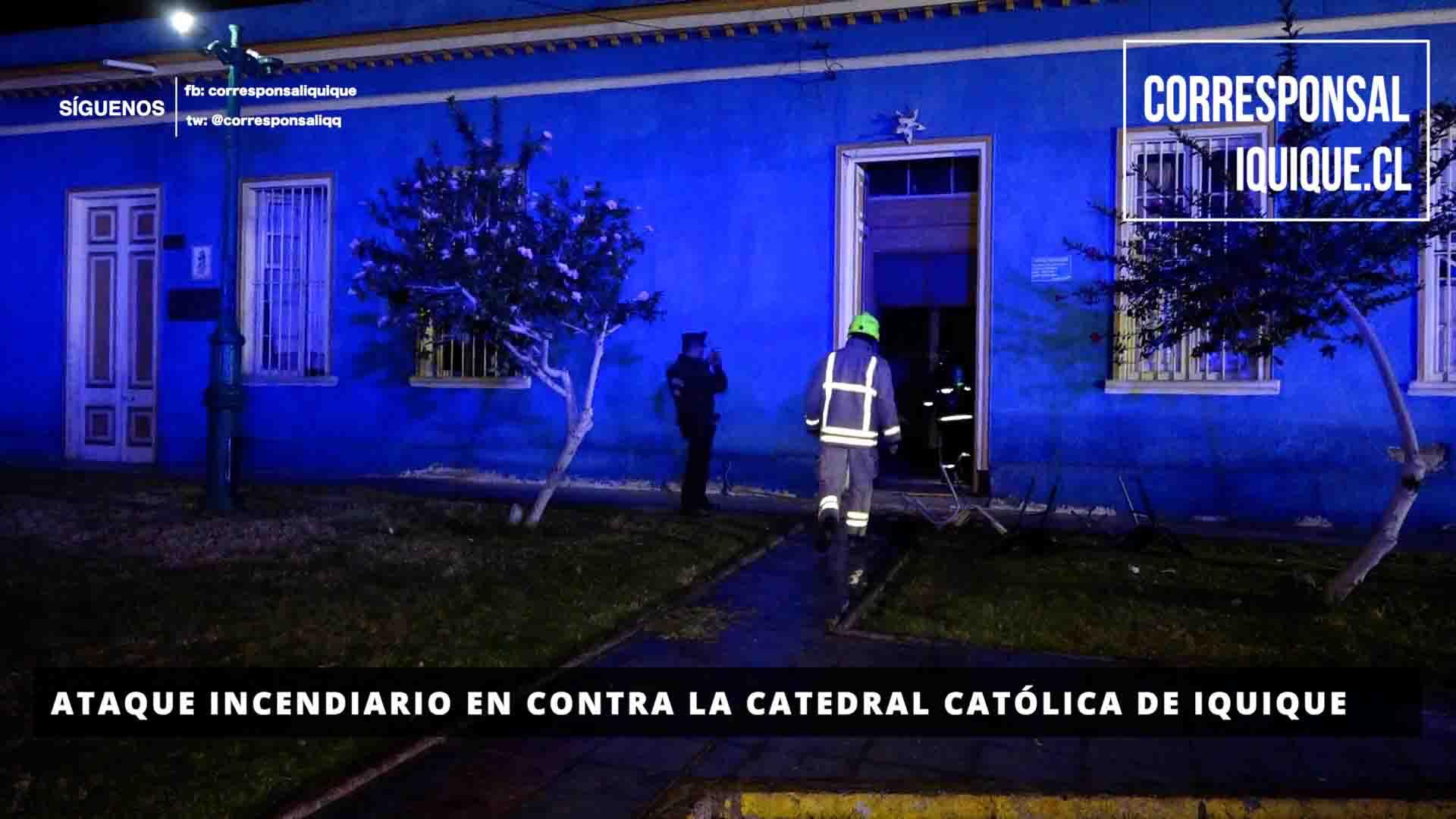 Photo of Atentado incendiario contra la Catedral