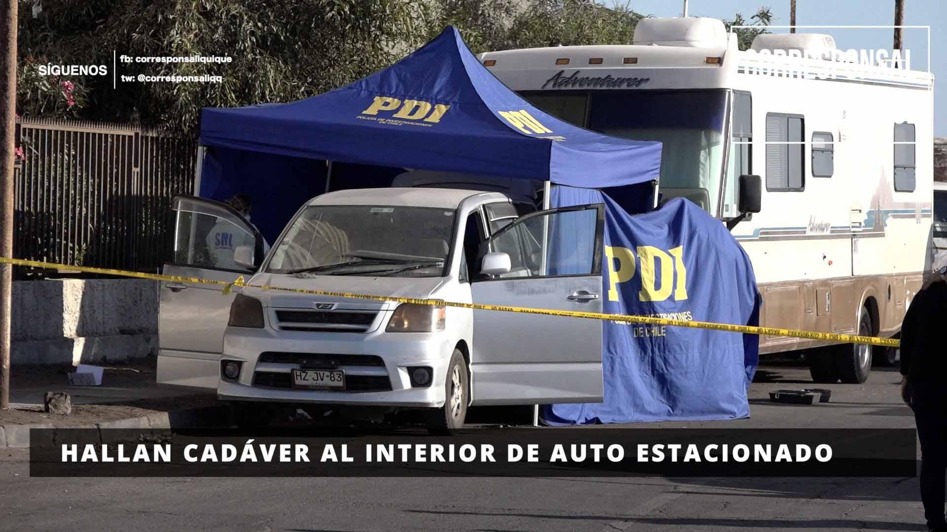 Photo of Hallan cadáver descompuesto al interior de auto estacionado