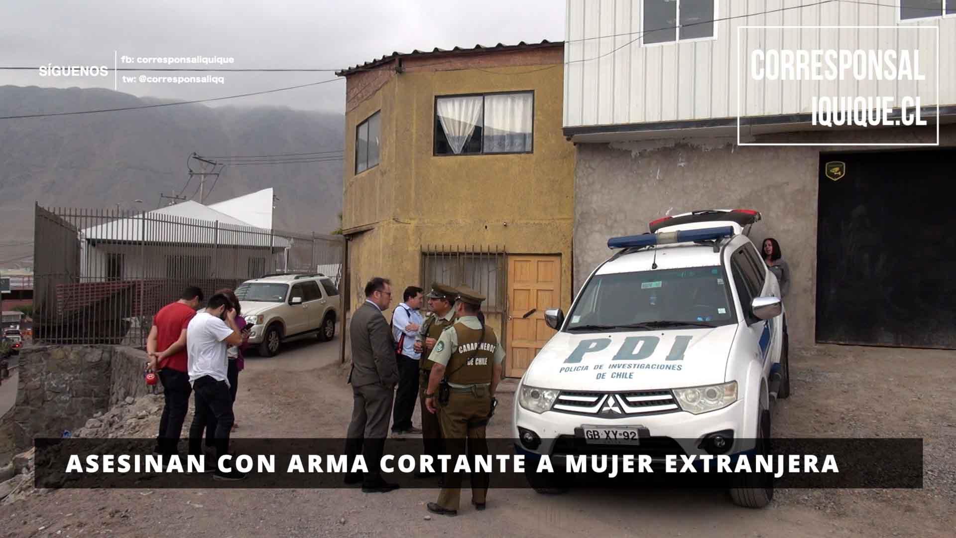 Photo of Asesinan con arma cortante a mujer extranjera