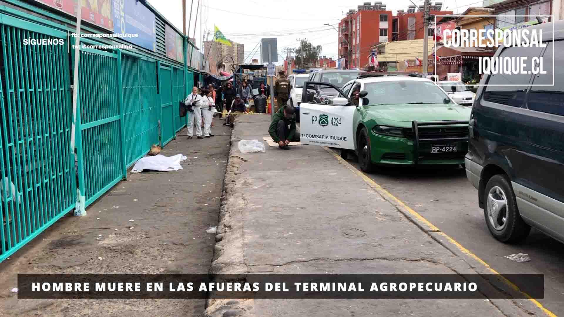 Photo of Hombre muere en las afueras del Terminal Agropecuario