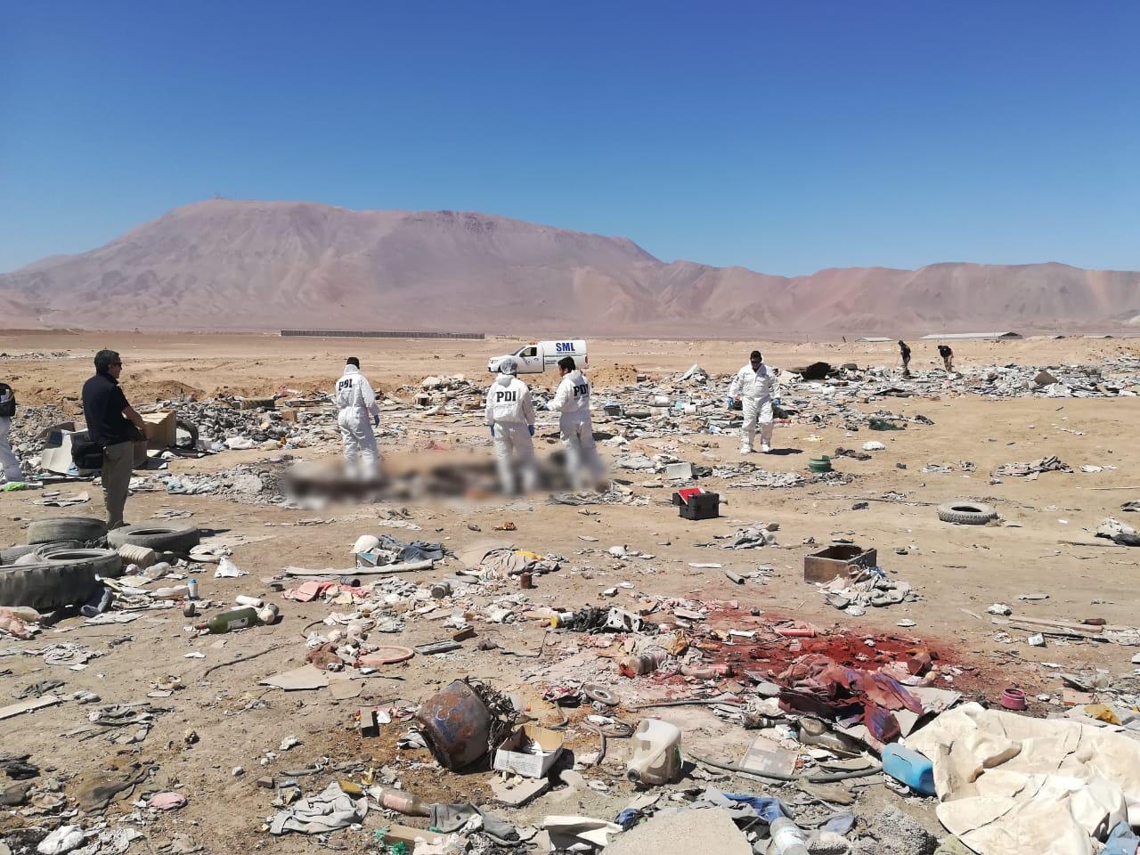 Photo of Encuentran cadáver calcinado en Alto Hospicio