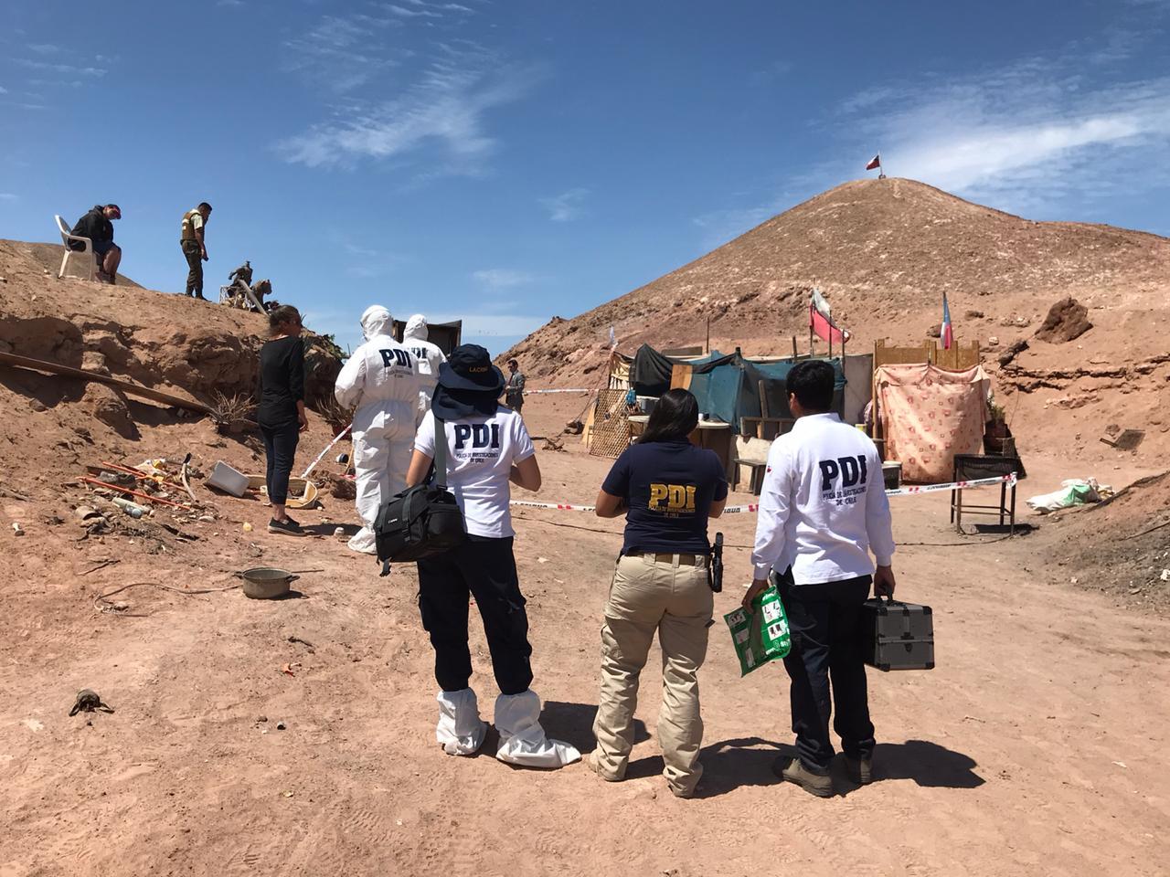 Photo of PDI investiga homicidio en vertedero