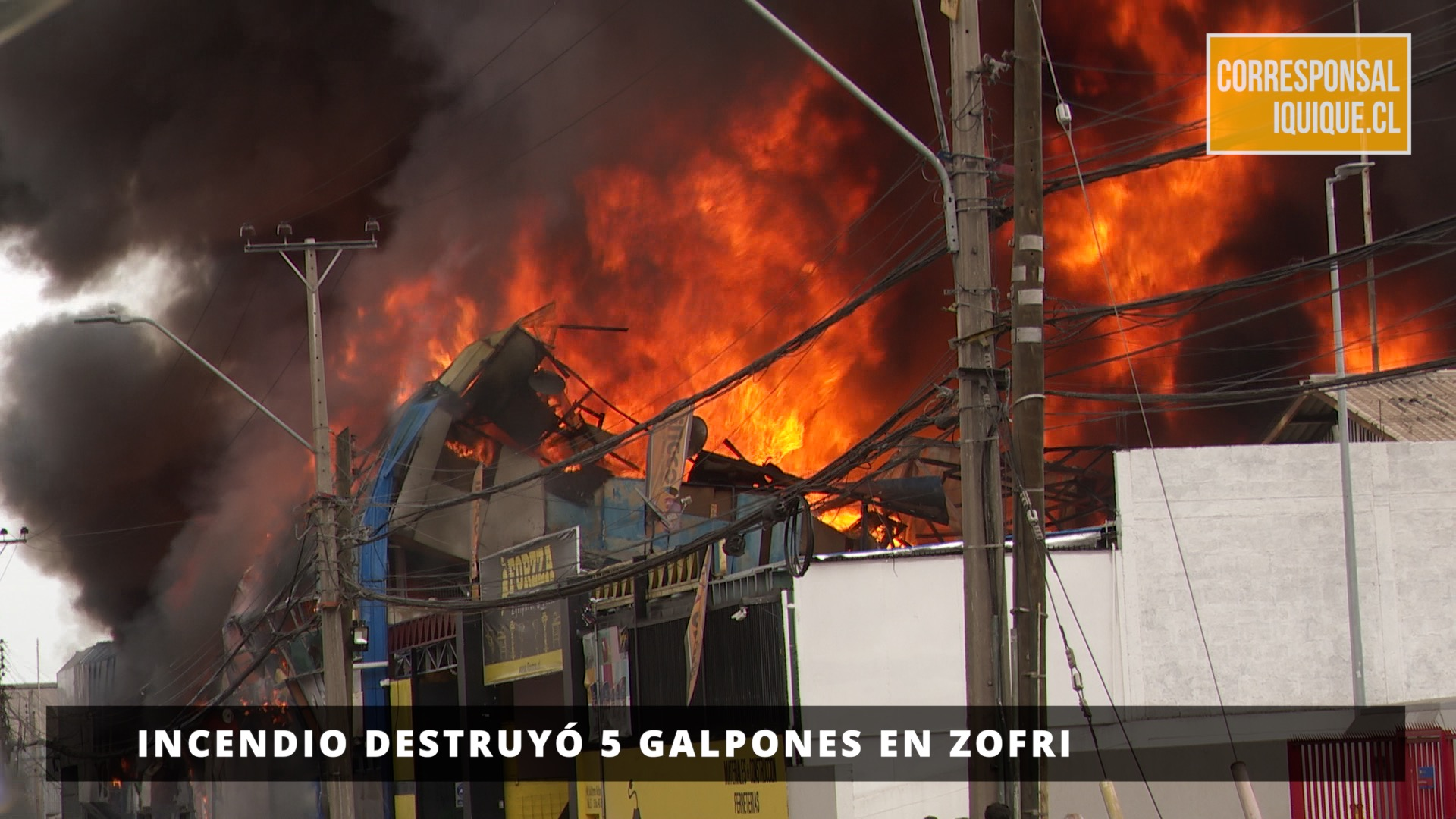 Photo of Incendio destruyó 5 galpones en Zofri