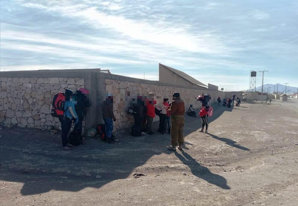 Photo of Detienen a 22 haitianos quienes habían ingresado por pasos no habilitados