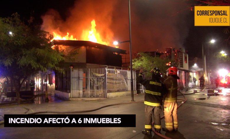 Photo of INCENDIO AFECTÓ A 6 INMUEBLES