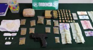 Detenidos por microtráfico de drogas