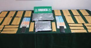 Canes detectores de drogas permiten detención de siete extranjeros por tráfico de drogas