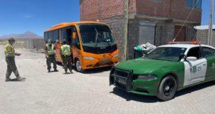 376 cursadas a conductores de transporte ilegal